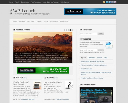 21 Clean & Premium WordPress Themes for Download