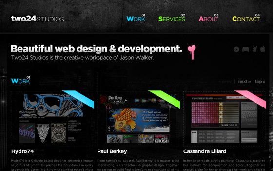 Single Page Web Design