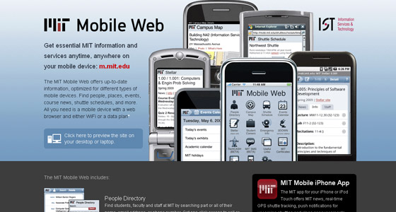 Mobile Webdesign Inspiration