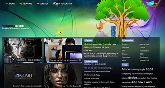 Professional Free Psd Themes