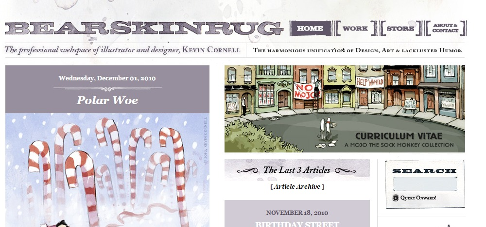 Beautiful Hand Drawn Websites