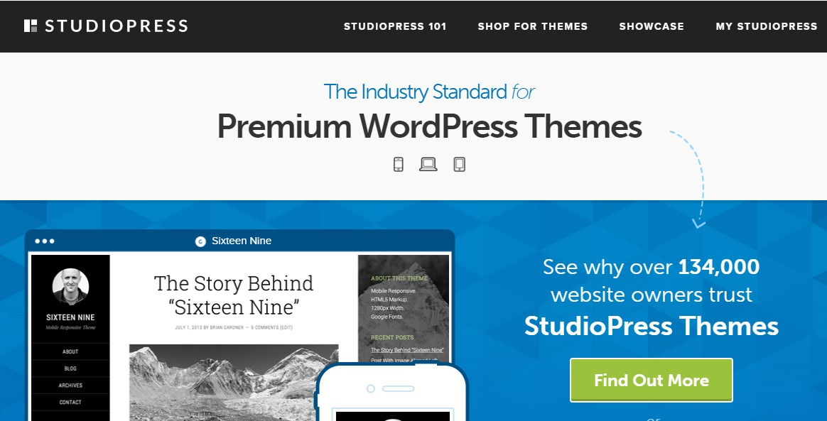 Wordpress Themes Provider