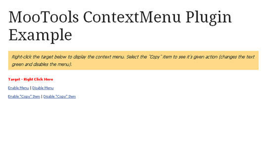 Top 15 mooTools Plugins