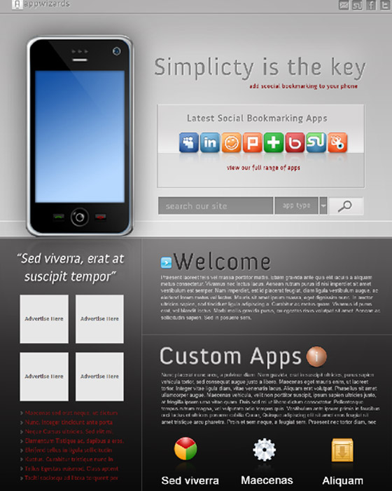 Awesome Psd Themes Free