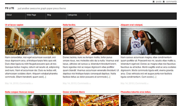 F8 Lite WordPress Theme