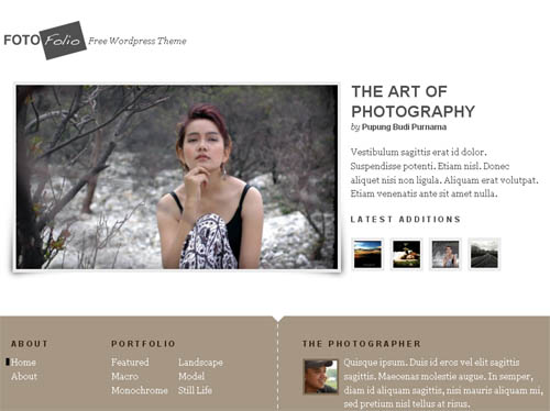 Fotofolio WordPress Theme