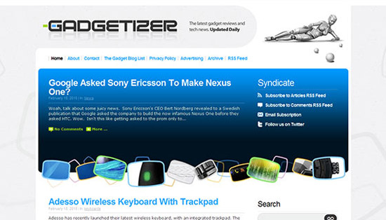 Gadgetizer WordPress Theme