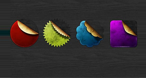 Free PSD Badges