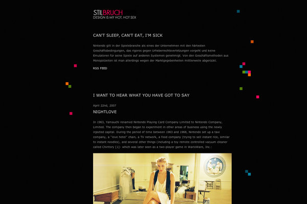Stilbruch WordPress Theme