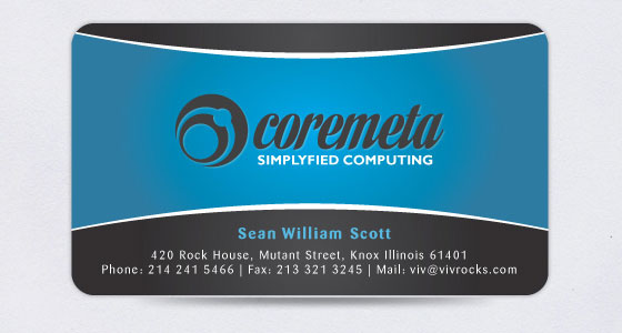 Visiting Card Design Sample Free Download