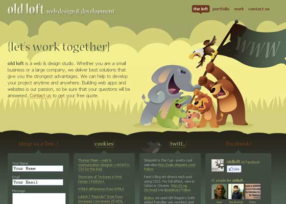 Illustrative Websites Design Inspiration
