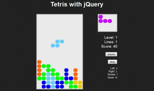 jQuery Games