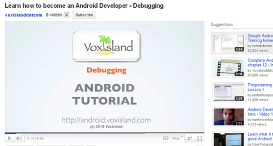 Android Developer Tools and Resources