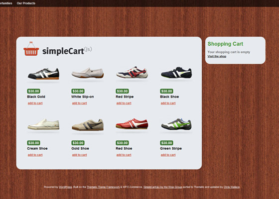 Free eCommerce Shopping Cart Themes For WordPress Wordpress themes Shopping Cart Online Store eCommerce