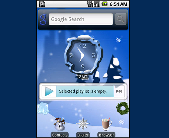 Ice magic world 27 Adet Android Teması
