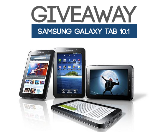 Samsung galaxy tab giveaway by web3mantra