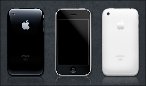 iPhones, iphone psd, iphone icon
