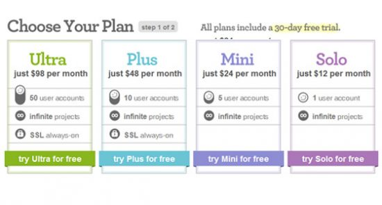 pricetable-11 Top 13 Web Design Price Tables Example