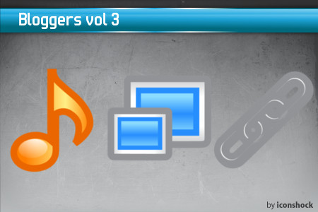 vol31 7 Free Bloggers Icons from IconShock
