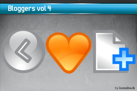 vol41 7 Free Bloggers Icons from IconShock