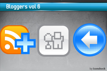 vol61 7 Free Bloggers Icons from IconShock