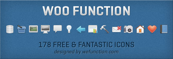 functions-release 178 Amazing Web Design Icons from Woofunction