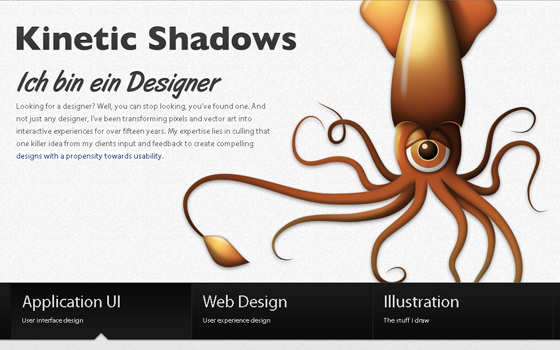 singlepage13 20 Excellent Single Page Web Design Inspiration