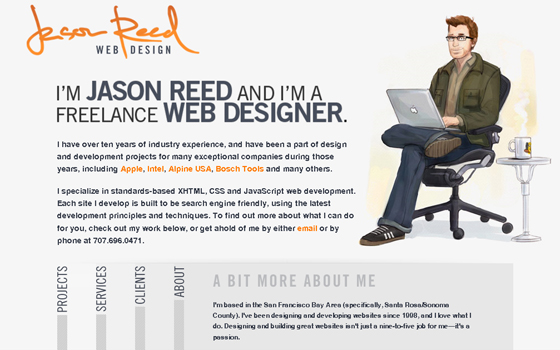 singlepage15 20 Excellent Single Page Web Design Inspiration