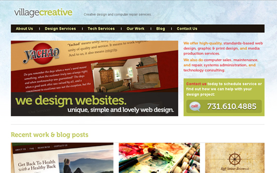 singlepage16 20 Excellent Single Page Web Design Inspiration
