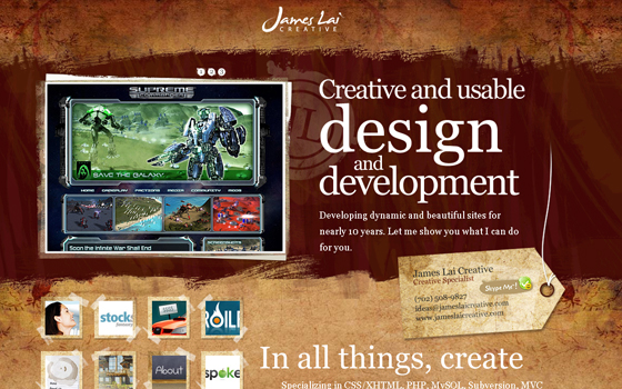 singlepage17 20 Excellent Single Page Web Design Inspiration