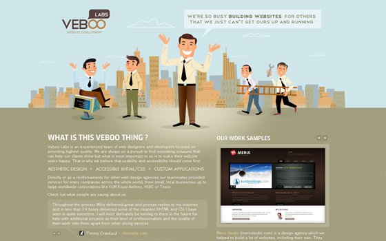 singlepage2 20 Excellent Single Page Web Design Inspiration