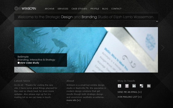 singlepage8 20 Excellent Single Page Web Design Inspiration