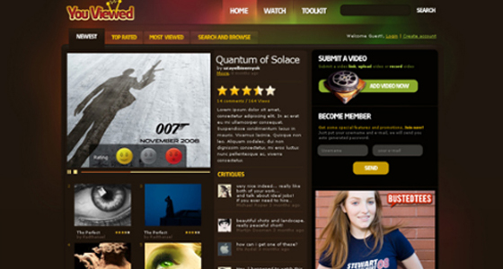 High quality Free Psd Themes