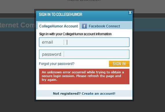Examples of Login Forms