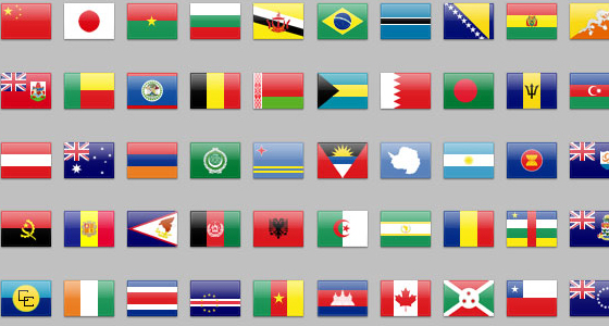 243nationsflagsicons 20 Free Icons Pack