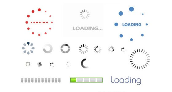 LoadingAnimatedGifIconset 20 Free Icons Pack