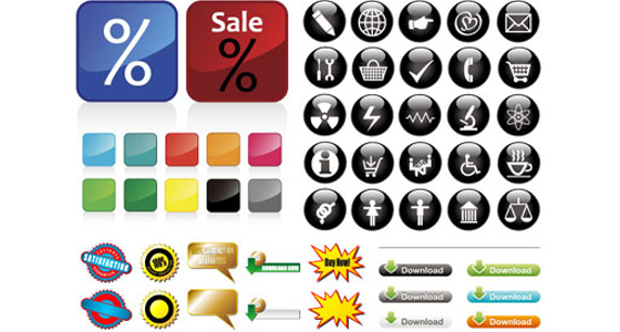 Someusefulbuttonicon 20 Free Icons Pack