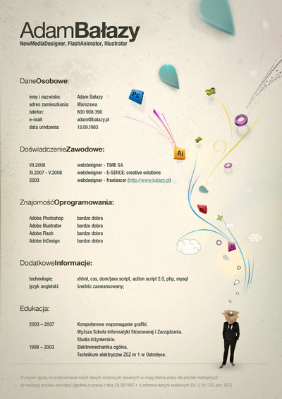 Attractive CV Resume Design