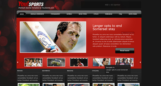 Top 15 Fresh Joomla Sports Templates - Web3mantra