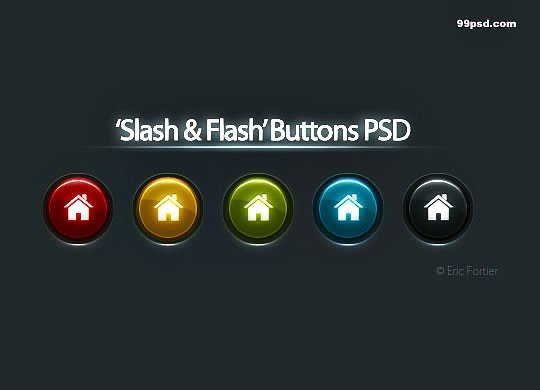 Free PSD buttons