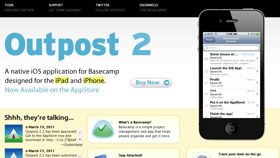 outpostapp 20 + Fresh & Beautiful Corporate Websites Inspiration