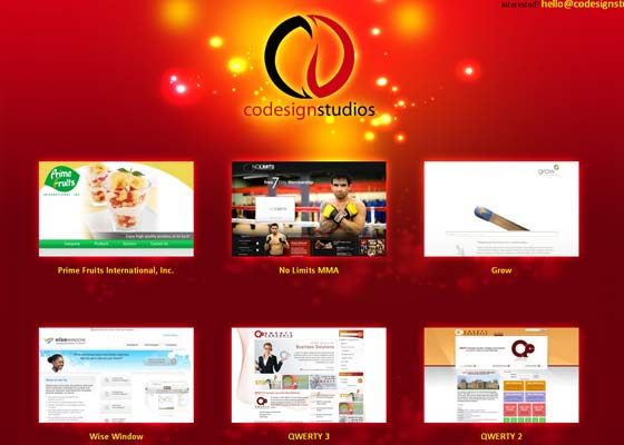 Red Websites Inspiration