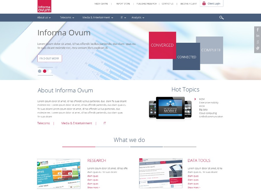 Ovum WordPress Theme