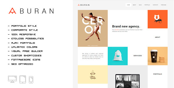 Smart Portfolio WordPress Theme
