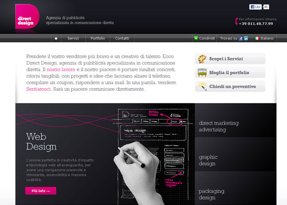 directdesign 30+ Business Web design Inspiration