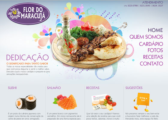 flordomaracuja 30+ Business Web design Inspiration