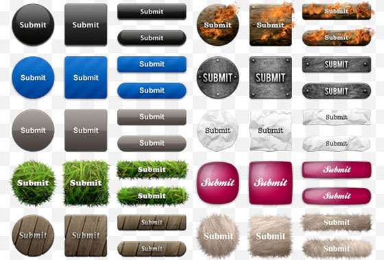 free-buttons8 Ultimate Collection of Free PSD Buttons