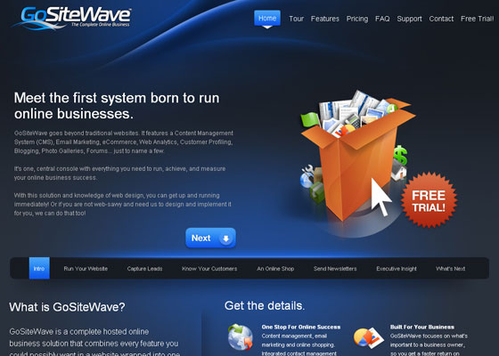 gositewave 30+ Business Web design Inspiration