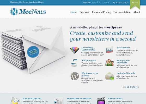 me-news 30+ Business Web design Inspiration
