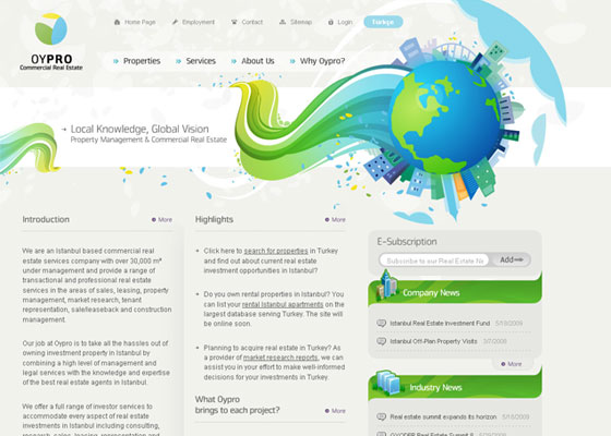 oypro 30+ Business Web design Inspiration